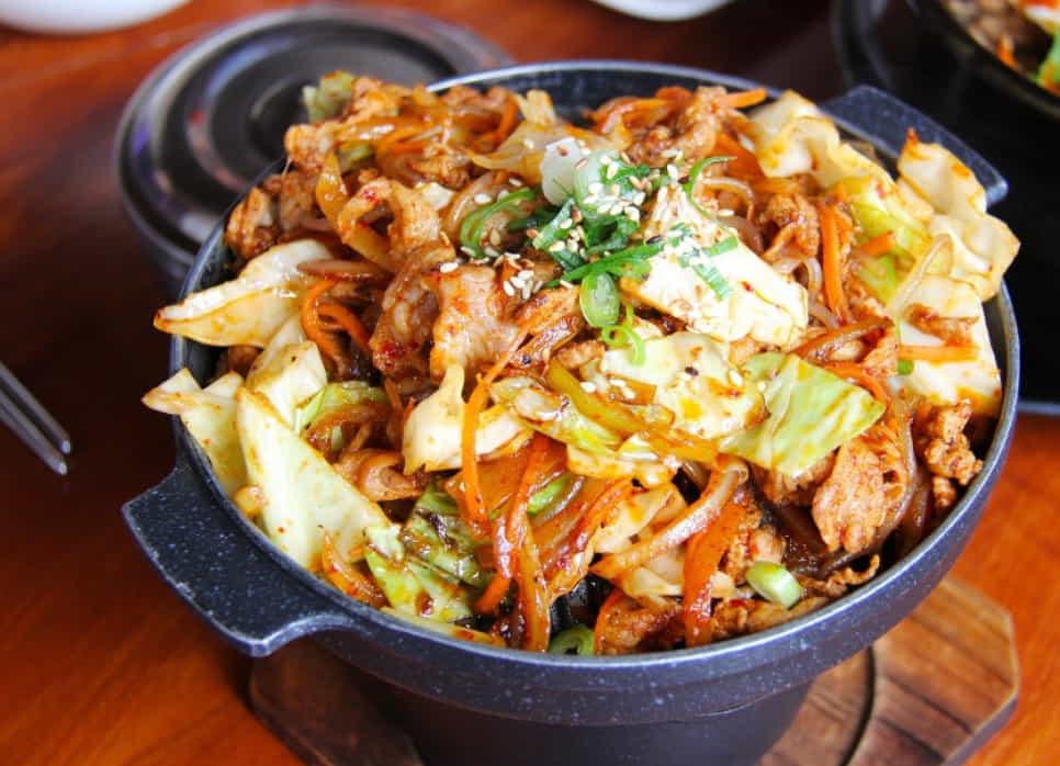 блюда корейской кухни